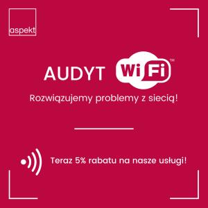 Audyt WiFi - rozwiązujemy problemy z siecią!